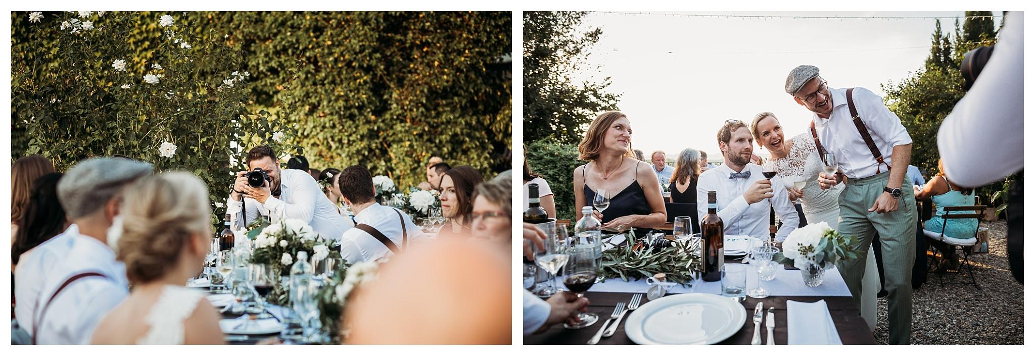 Wedding celebrations in Italy at La Villa Hotel, Mombaruzzo