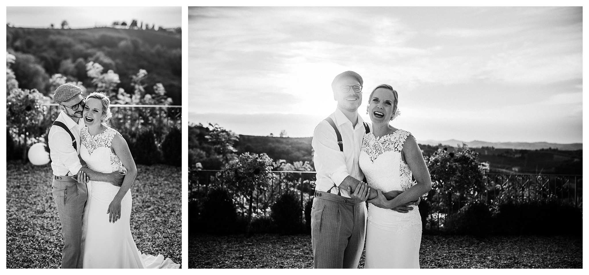 spontaneous and emotional wedding photography in Italy at La Villa Hotel, Mombaruzzo