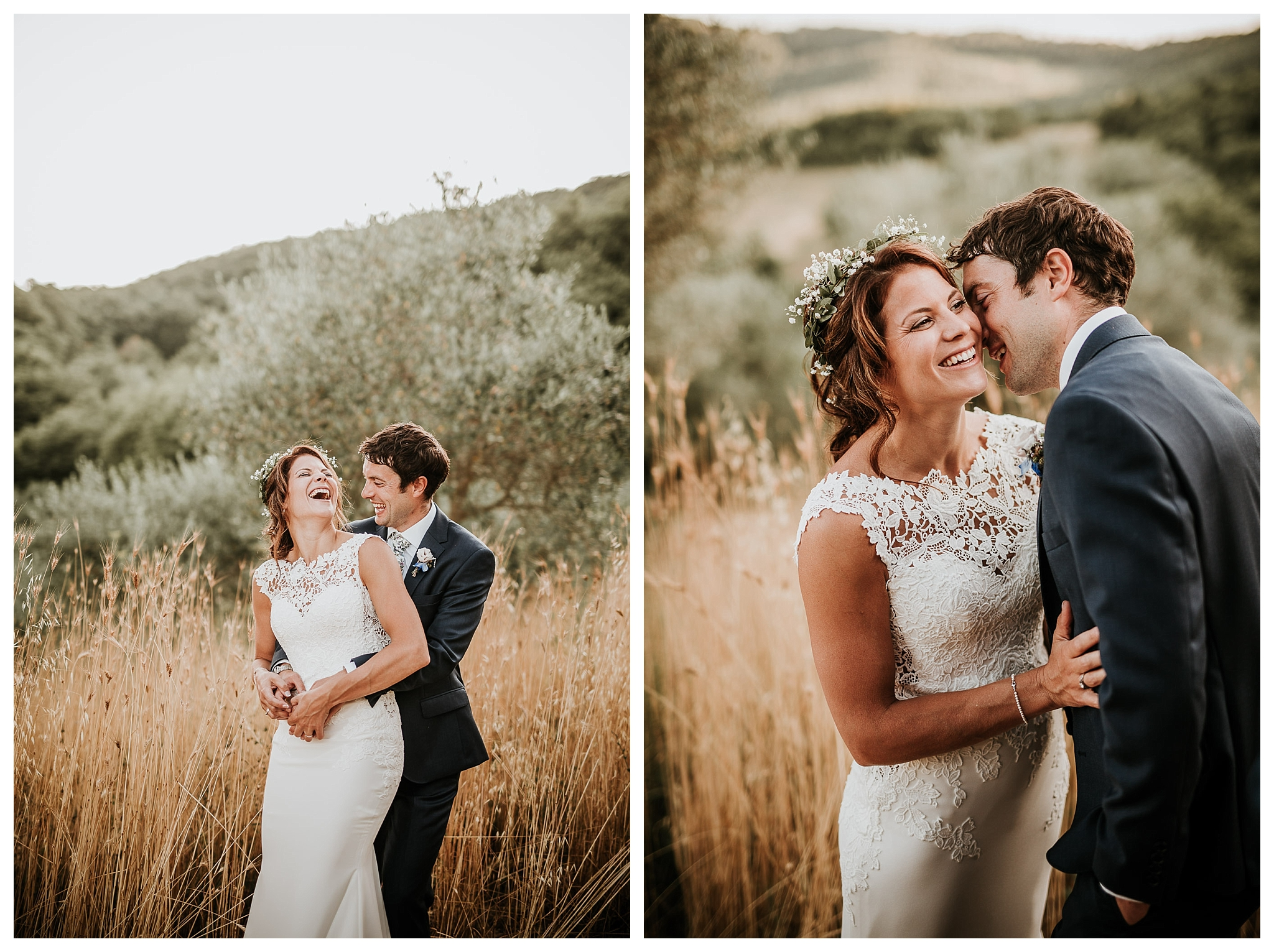 Natural photos for a couple in Umbria, Italy