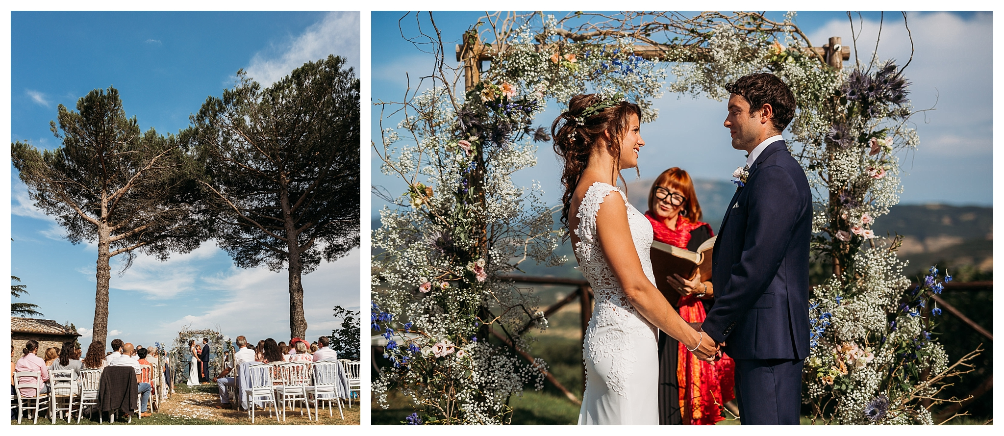 Ceremony in Italy