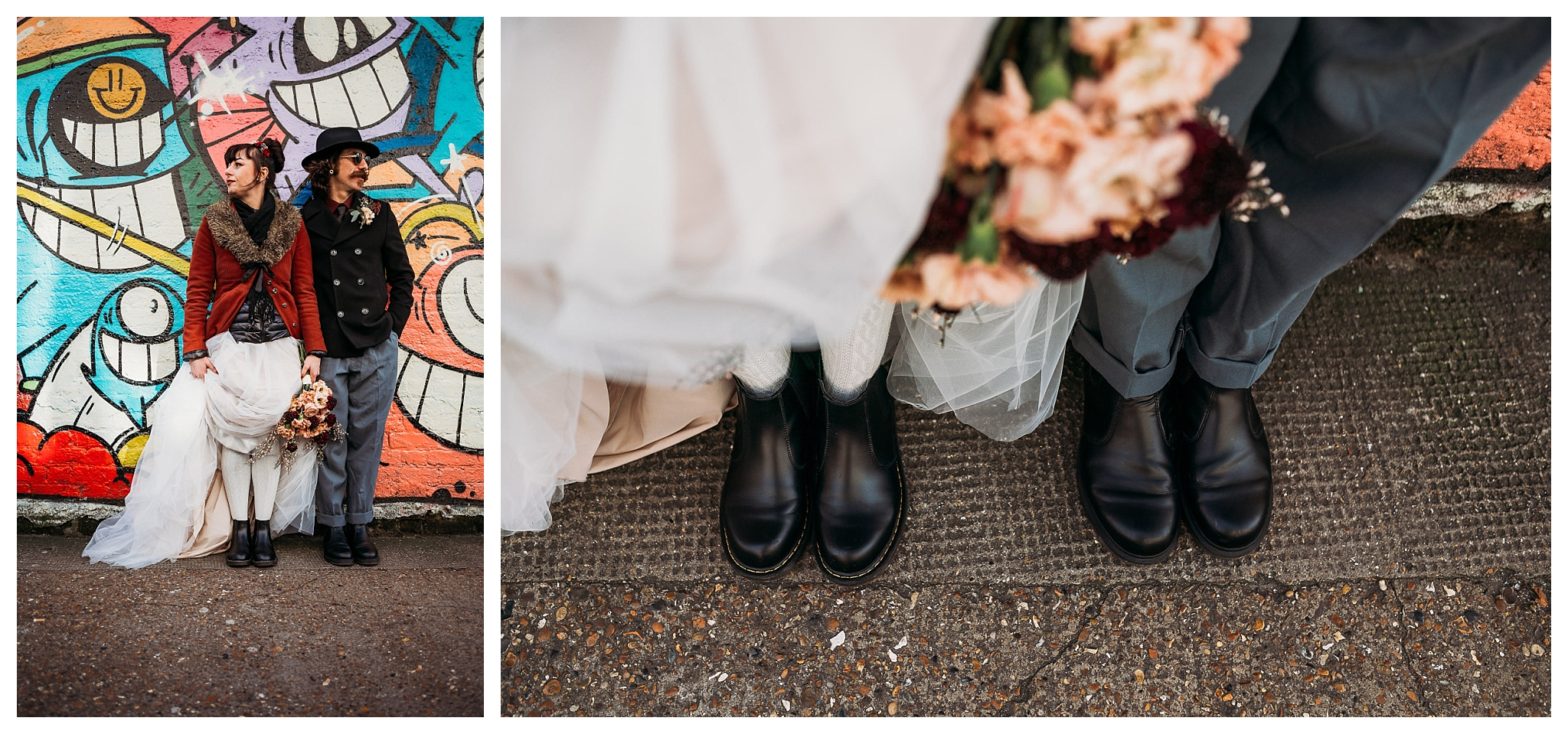Doctor Martens shoes for wedding